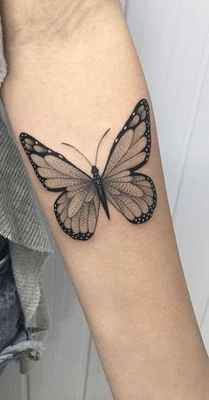 - Beautiful Butterfly Tattoo Ideas - Topstoryfeed - Beautiful Butterfly Tattoo I - Butterfly Tattoo Ideas - Top Story Feed - Mini Tattoos, Rose Tattoos, Leg Tattoos, Body Art Tattoos, Small Tattoos, Sleeve Tattoos, Tattos, Realistic Butterfly Tattoo, Butterfly Tattoos For Women
