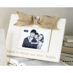 Mud Pie Our Story Begins Frame #WhimsicalUmbrella #HomeDecor #Gift whimsicalumbrella.com