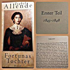 Ich liebe den Schreibstil von Isabel Allende. #buch #isabelallende #fortuna #tochter #historisch #roman #bücher