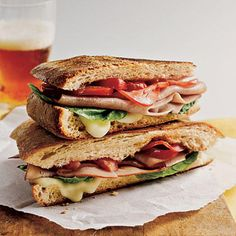A few special ingredients--like freshly baked ciabatta bread or imported Dijon mustard--make a quick, simple sandwich seem like a treat.