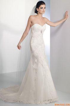 sweetheart Mermaid Wedding Dresses 2012 Applique