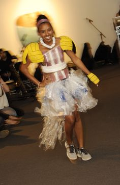 Water Polo becomes couture at the 4th Annual Eco Fashion and Arts Show.