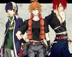 Aquarion evol Andy, Kagura, and Amata Genesis Of Aquarion, Hottest Anime Characters, Anime Soul, Anime Version, Avengers Age, Bishounen, Hot Anime Guys, Beautiful Stories, Amazing Pics