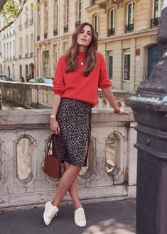 161165ad3a 14 Best Leopard skirt outfit images