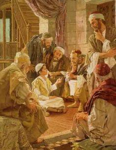 La Pérdida del Niño Jesús y su hallazgo en el templo. | EL NIÑO PERDIDO Y HALLADO EN EL TEMPLO