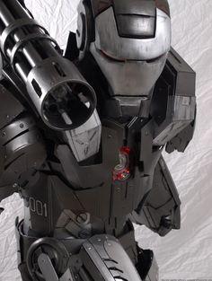 "Character: War Machine (James Rupert ""Rhodey"" Rhodes) / From: MARVEL Comics 'Iron Man' & 'War Machine' / Cosplayer: Unknown"