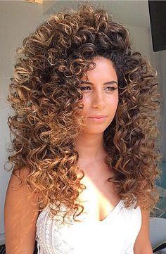 Poofy Hair, Big Curly Hair, Curly Hair Styles, Long Curly, Short Shaved Hairstyles, Permed Hairstyles, Bride Hairstyles, Shaved Hair Cuts, Bouffant Hair