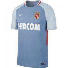 0e226f2d7 Camiseta del AS Monaco 2017-2018 Visitante  asmonaco  shirt El Shaarawy