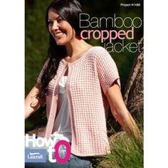 Bamboo Cropped Jacket-