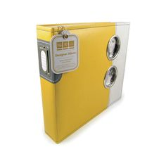 We R Memory Keepers - Designer - 12 x 12 - Three Ring Albums - Yellow Submarine at Scrapbook.com $39.99