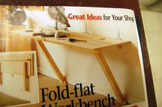 Folding Work Bench - The Garage Journal Board