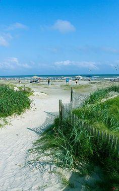 West End Beaches, #Galveston, Texas where we RV and we love it..Dellanera RV Park on the beach.