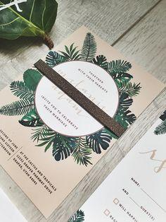 palm leaf wedding - Google Search