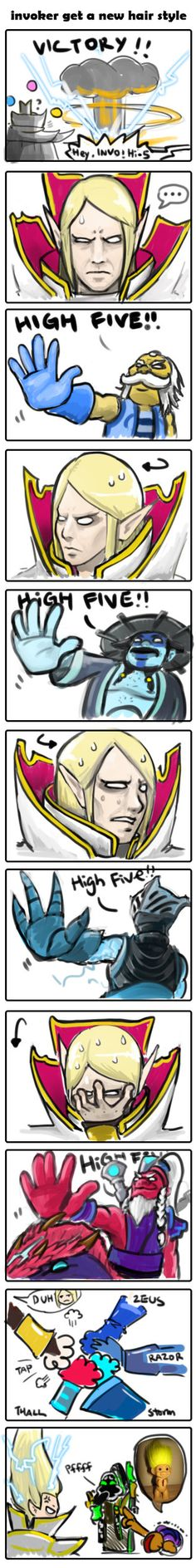 How Invoker's immortal was made lol yesss