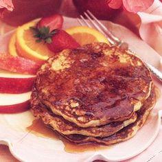 Applesauce Pancakes Recipe Low Sugar Recipes, Ww Recipes, Diabetic Recipes, Cooking Recipes, Diabetic Foods, Healthy Recipes, Healthy Foods, Free Recipes, Diabetic Sweets