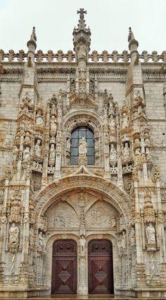 """Gables and Pinnacles"" - Igreja Santa Maria de Belém - Lisboa, Portugal  https://drayperry.smugmug.com/?utm_content=bufferc3c99&utm_medium=social&utm_source=pinterest.com&utm_campaign=buffer  #photobydperry"