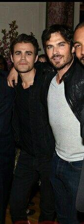 Ian & Paul at CW Upfronts NYC 14/5/15
