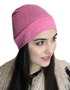 20c226becb4 Uptown Girl Headwear Tagless Womens Slip On Beanie Sleep Chemo Hat 100%  Organic USA Cotton Skull Cap at Amazon Women s Clothing store