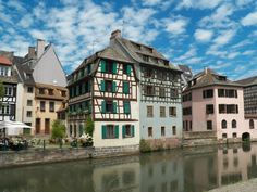 Strasbourg Strasbourg, Alsace, Around The Worlds, France, Spaces, Mansions, House Styles, Home, Manor Houses