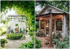 Do you have your own space where you can 'get away and relax?' Check out some of these She Sheds that will have you dreaming of your own!