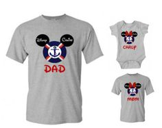 Disney Christmas Hat Mickey and Minnie Family by WBClothing