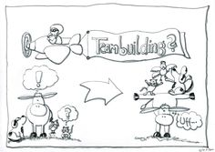 """Visualisierung zum Thema """"Teambuilding"""""""