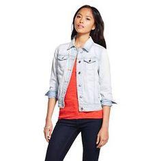 97459ed9dc3 Women s Denim Jacket Light Wash Denim - Mossimo Supply Co. (Junior s) Mossimo  Supply