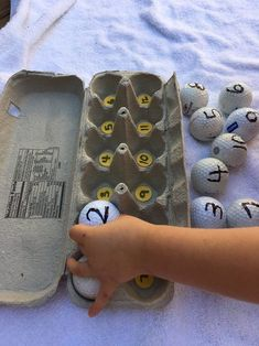 Homemade Number Count Up — Days With Grey Numeracy Activities, Infant Activities, Learning Activities, Preschool Rooms, Preschool Activities, Preschool Number Crafts, Learning Numbers Preschool, Montessori, Teaching Kids