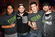Team Fusian winning best bite at the Junior League CinSation event in March. Cultural Events, Party Pictures, Young Professional, Fundraising, Sushi, March, My Love, Boys, Casual