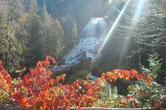 Beaver Brook Falls in Colebrook, New Hampshire, courtesy Rebecca Courtemanche Baker.