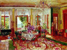 Gods and Foolish Grandeur: Interiors by Stanislav Zhukovsky