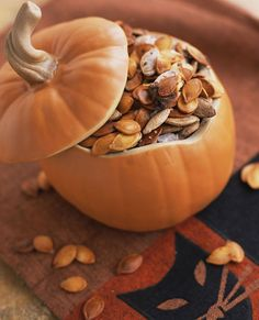 Learn why pumpkin seeds deserve a spot in your healthy snack rotation. They're packed with nutrients like omega-3s and incredibly easy to flavor up!