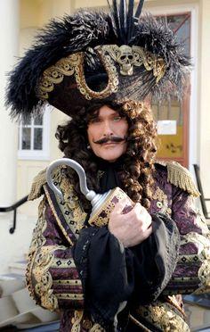 The Hoff as Captain Hook... best panto EVER!!!