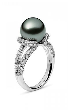 Mikimoto Fashion Rings | Item #: PRA 688BD W
