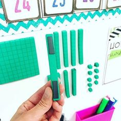 LOVE this idea. Wish I had seen it before I did addition and subtraction strategies. I know I will be using this next year… Second Grade Math, First Grade Classroom, First Grade Math, Math Classroom, Math Math, Classroom Ideas, Classroom Organization, Future Classroom, Kindergarten Math