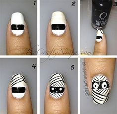This article is all about the Easy Halloween Nail Art tutorial 2019 for the spooky looks. Here are the simple yet interesting Halloween nails for the beginners. Holiday Nail Art, Fall Nail Art, Halloween Nail Art, Easy Halloween, Halloween Party, Nail Art Designs 2016, Nail Designs Spring, Beautiful Nail Designs, Cute Nail Designs