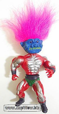 TROUBLE the Troll Fighter for Trollandia 1990s SIMBA MOTU Knockoff Bootleg Action
