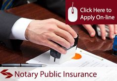 Notaries Public Professional Indemnity Insurance