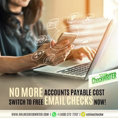 Stop paying for the account payable debts you have. Opt for eChecks today. Send the check to the concerned payee digitally.   #AccountsPayable #OnlineCheckWriter #eChecks #DigitalChecks #PayeeAccount #Transactions #Finance #Banking