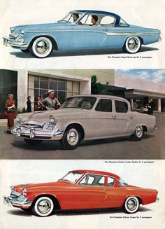1955 Studebaker Champion - My dad had a '55 and '56 when I was young. Of all classic American cars this is the one I want the most.