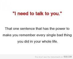 need to talk to u