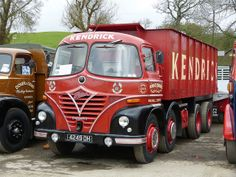 Foden S21 Old Vintage Cars, Vintage Trucks, Old Trucks, Old Cars, Antique Cars, Classic Trucks, Classic Cars, Old Lorries, Old Wagons