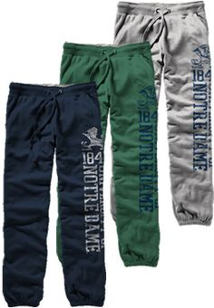 Product: University of Notre Dame Fighting Irish Women's Pants