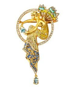 Masriera Water fairy Pendant - if you have to ask how much...well, you know the rest.
