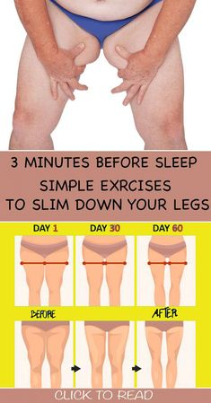 3 Minutes Before Sleep Simple Exercises To Slim Down Your Legs ! 3 Minutes Before Sleep Simple Exercises To Slim Down Your Legs ! Body Fitness, Physical Fitness, Health Fitness, Fitness Memes, Mens Fitness, Health And Fitness Articles, Fitness Logo, Fitness Diet, Fitness Goals