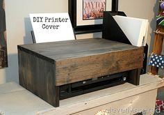 DIY Printer Cover | Cleverly Inspired | Bloglovin'