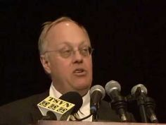 """Chris Hedges gives at the """"One Nation Under Surveillance"""" civil liberties conference at CCSU in CT."""