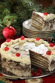 a megszokott sütemények helyett valami mást készítenél? Próbáld ki ezt a csodás sütit! Christmas Eve, Xmas, Christmas Morning Breakfast, Sweet Recipes, Gingerbread, Brunch, Food And Drink, Sweets, Baking