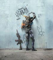 Chappie [Hi-Res Textless Poster] by PhetVanBurton