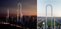 """Edifício em """"U"""" será construído em Nova York e será um desafio para engenharia e arquitetura"""